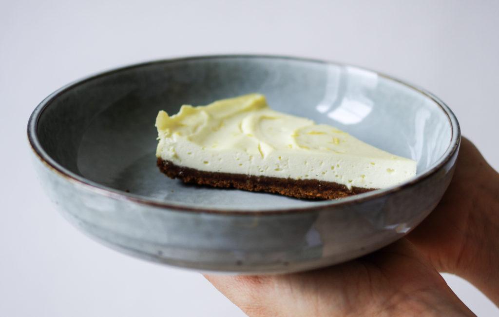 Cheesecake ricotta citron